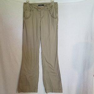 BKE Mollie Boot Stretch Pants-Khaki Size 26